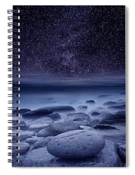 The Cosmos Spiral Notebook by Jorge Maia
