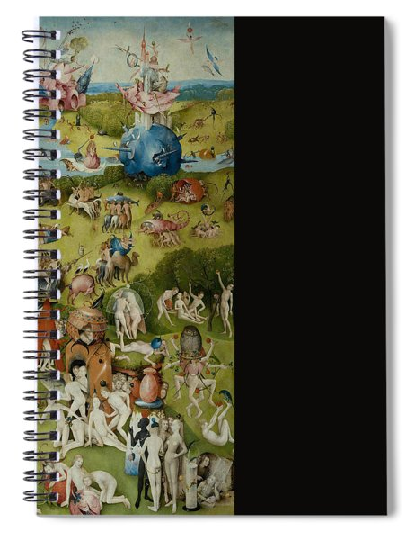 The Garden Of Earthly Delights Spiral Notebook