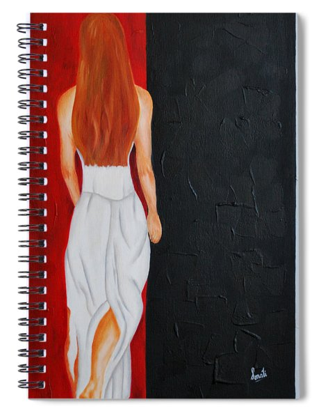 The Mystery Woman Spiral Notebook