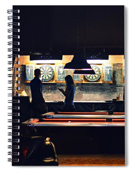 The Pub Spiral Notebook