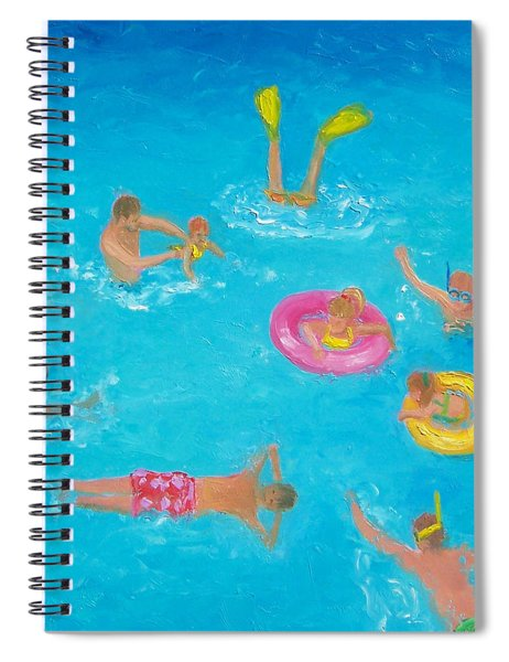 The Swimmers Spiral Notebook