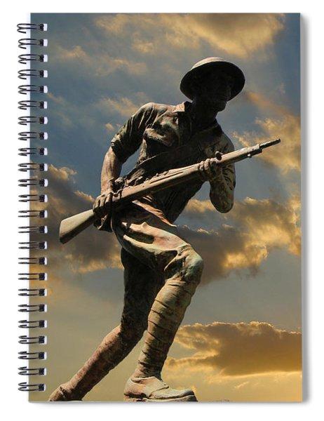 The Unknown Soldier Spiral Notebook