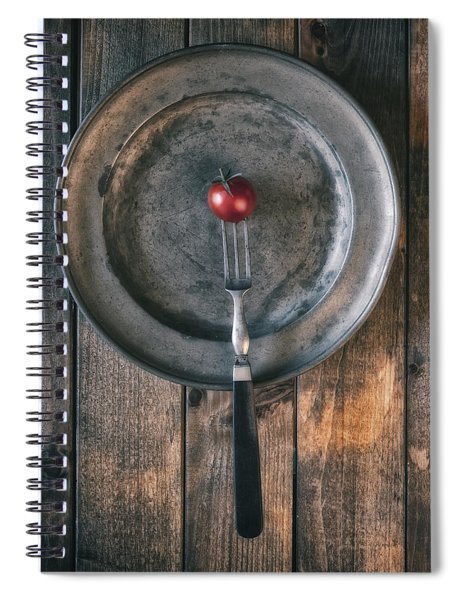 Tomato Spiral Notebook