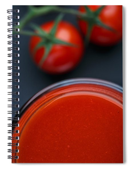 Tomato Juice Spiral Notebook