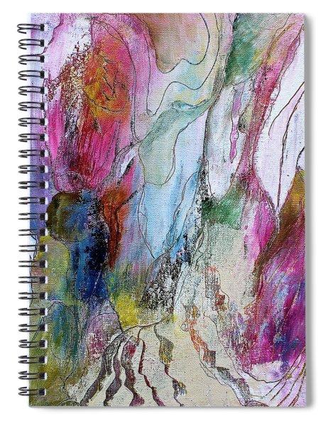 Under The Ice Of Venus Spiral Notebook