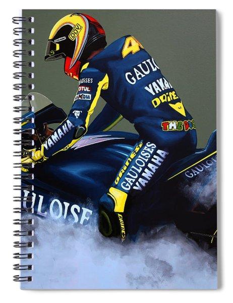 Valentino Rossi Spiral Notebook