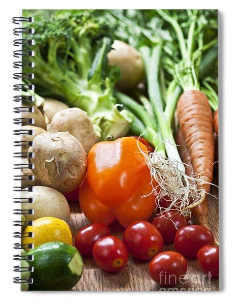Vegetables Spiral Notebook