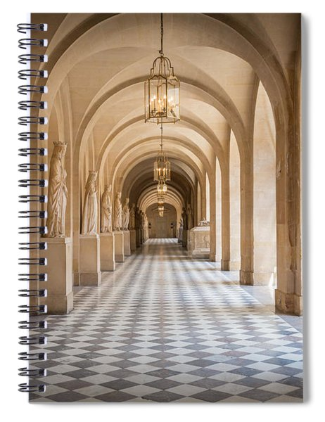 Versailles Hallway Spiral Notebook