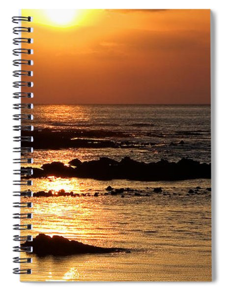 Waikoloa Sunset Spiral Notebook