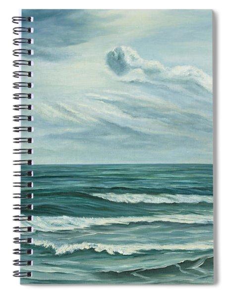 Waving Sea Spiral Notebook