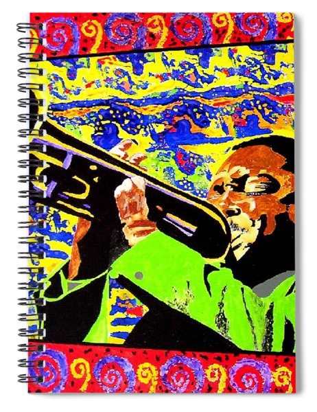 Wynton Marsalis Plays Louis Armstrong Spiral Notebook