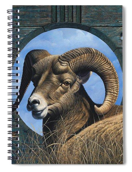 Zia Ram Spiral Notebook