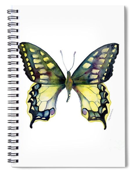 20 Old World Swallowtail Butterfly Spiral Notebook
