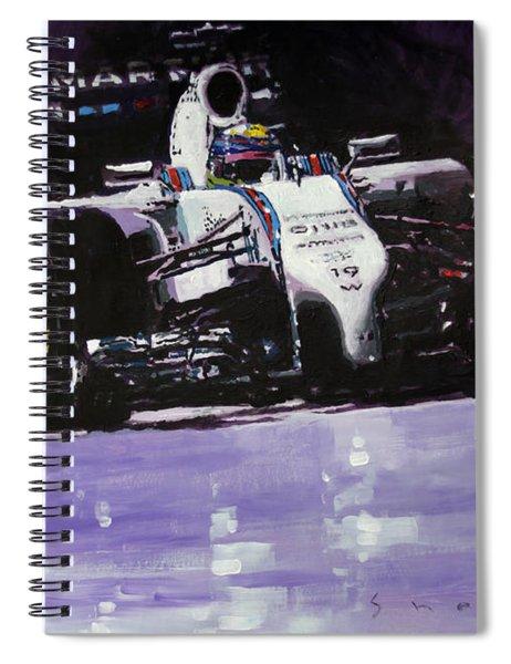 2014 Williams F1 Team Fw 36 Felipe Massa  Spiral Notebook