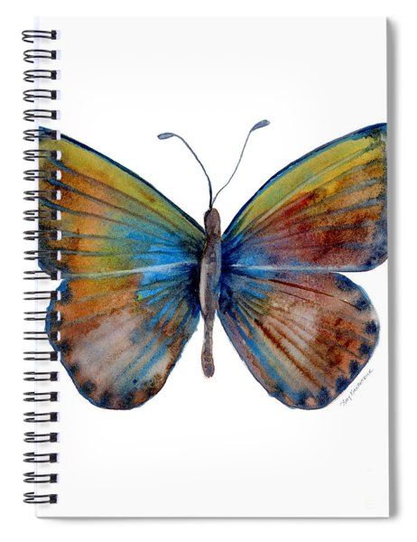 22 Clue Butterfly Spiral Notebook