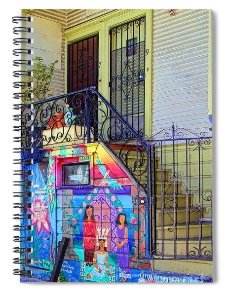 25 Balmy Alley San Francisco Spiral Notebook