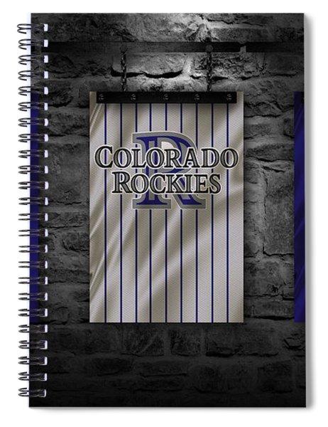 Colorado Rockies Spiral Notebook