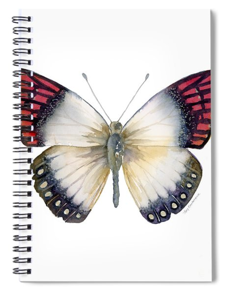 27 Magenta Tip Butterfly Spiral Notebook