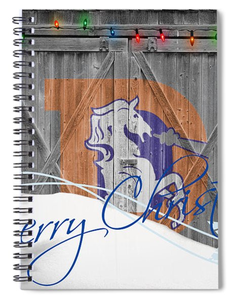 Denver Broncos Spiral Notebook by Joe Hamilton