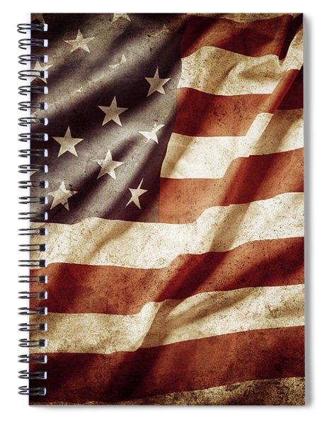 American Flag 53 Spiral Notebook