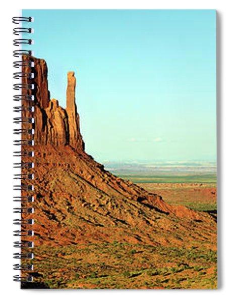 Rock Formations On A Landscape Spiral Notebook