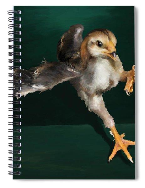 29. Yamato Chick Spiral Notebook