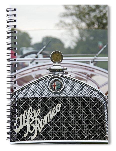 1931 Alfa Romeo Spiral Notebook