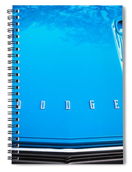 1972 Dodge 340 Challenger Painted  Spiral Notebook