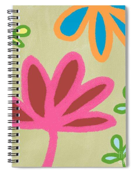 Bali Garden Spiral Notebook