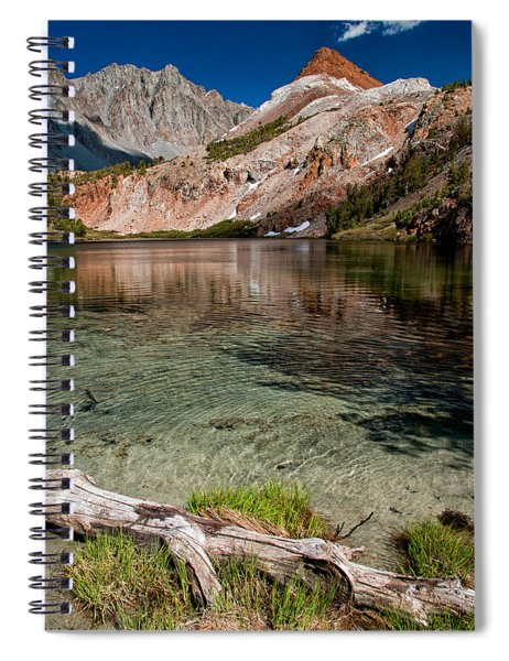Bull Lake And Chocolate Peak Spiral Notebook