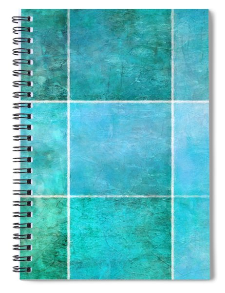 3 By 3 Ocean Spiral Notebook