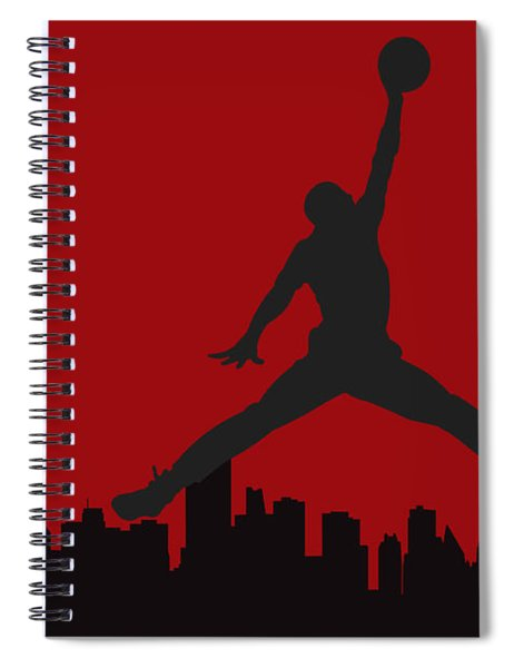 Chicago Bulls Spiral Notebook