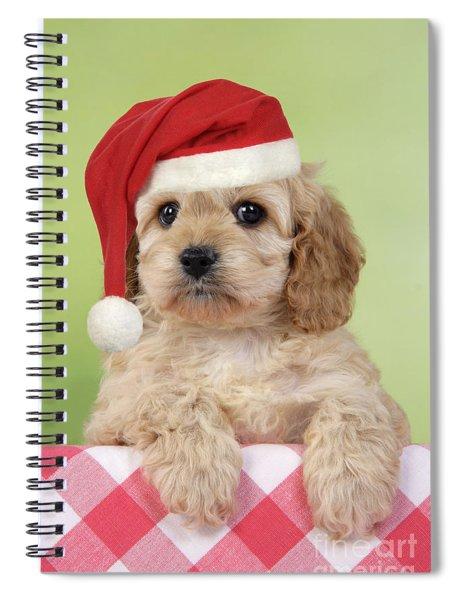 Cockapoo Puppy Dog Spiral Notebook