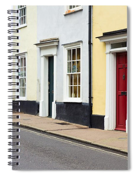 Colorful Houses Spiral Notebook