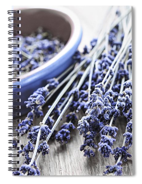 Dried Lavender Spiral Notebook