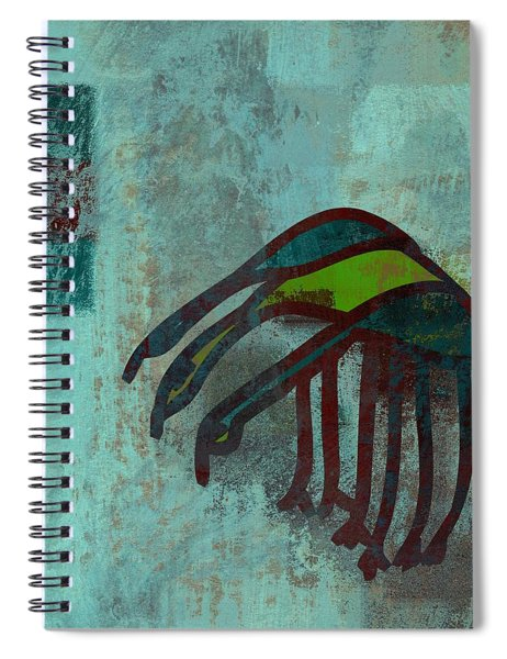 3 Egrets - J076073091a2bl Spiral Notebook