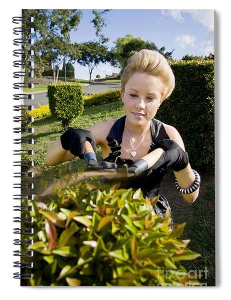 Gardener Spiral Notebook