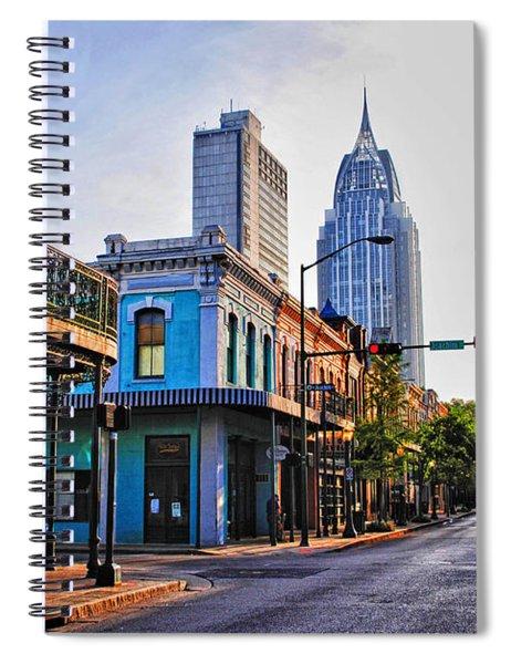 3 Georges Spiral Notebook