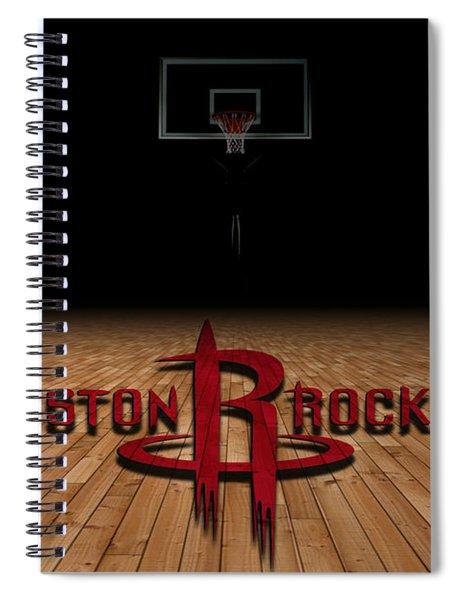 Houston Rockets Spiral Notebook