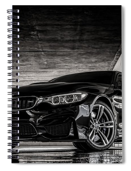 I Take Mine Black Spiral Notebook