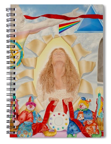Invocation Of The Spectrum Spiral Notebook