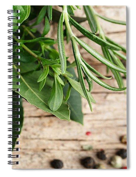 Kitchen Herbs Spiral Notebook