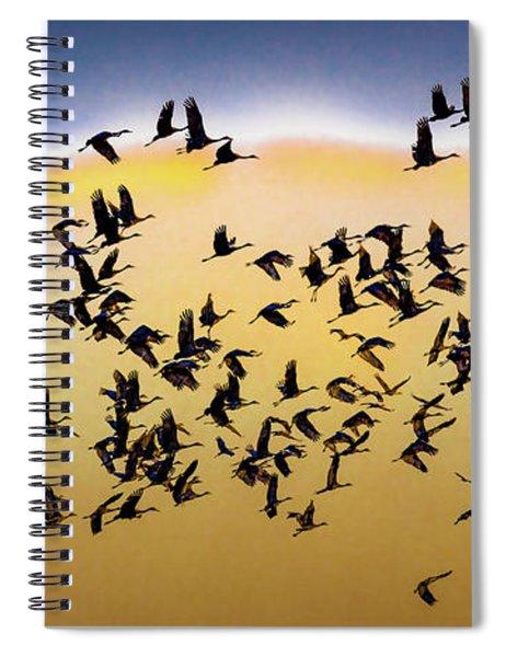 March 7, 2017 - Grand Island, Nebraska Spiral Notebook