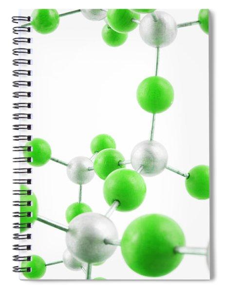 Molecular Model Spiral Notebook