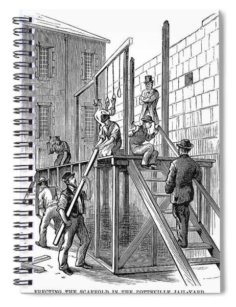Molly Maguires Executions Spiral Notebook