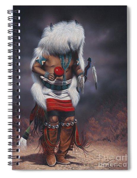 Mystic Dancer Spiral Notebook