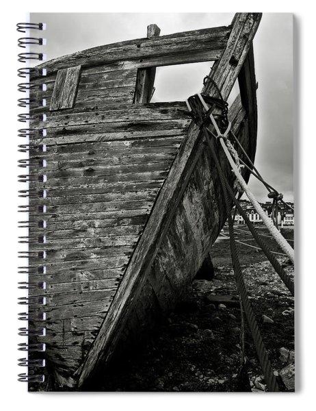 Old Abandoned Ship Spiral Notebook