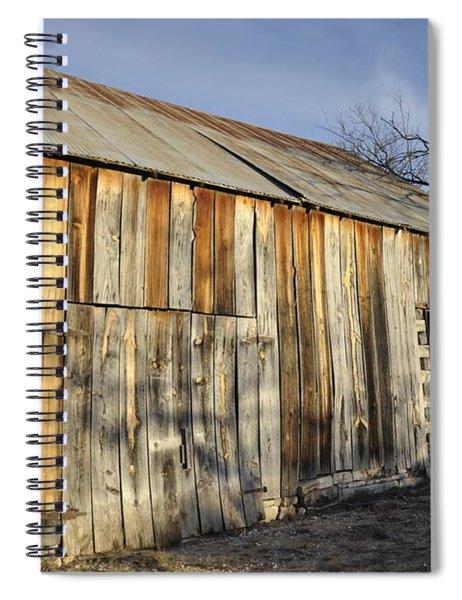 Old Barn Spiral Notebook