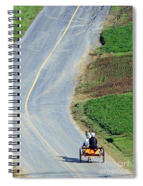 Onward And Upward Spiral Notebook