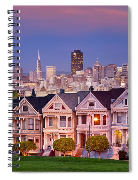 Spiral Notebook featuring the photograph Painted Ladies by Brian Jannsen